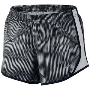 NWT Nike Dri-Fit Stripe Print Tempo Shorts girls